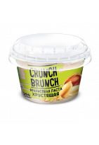 Crunch Brunch Хрустяшая арахисовая паста 200гр
