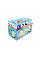 CHIKASPORT Белый шоколад с миндалём и кокосовыми чипсами