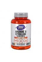NOW Arginine 500 мг & Citrulline 250 мг 120 vcaps