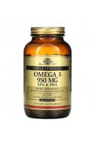 SOLGAR Тройная Omega-3 950mg 100 caps