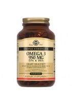 SOLGAR Тройная Omega-3 950mg 50 caps