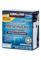 Kirkland Minoxidil 5% для мужчин 6 флаконов 60 мл пипетка
