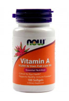 NOW Vitamin A 25000IU 100 softgels