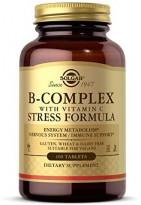 Solgar, Витамин B с витамином C, борьба со стрессом 100 tab