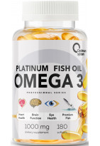 Optimum System Platinum Omega 3 180 caps