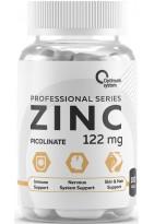 Optimum System Zinc Picolinate 122mg 100 caps