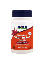 NOW Vitamin D3 2000 IU