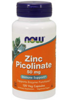 NOW Zinc Picolinate 50mg 120veg caps