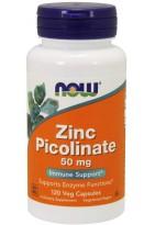 NOW Zinc Picolinate 50mg 120veg caps
