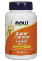 NOW Super Omega 1200mg 3-6-9
