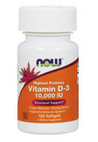 NOW Vitamin D3 10000 IU