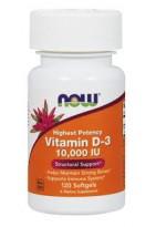 NOW Vitamin D3 10000 IU